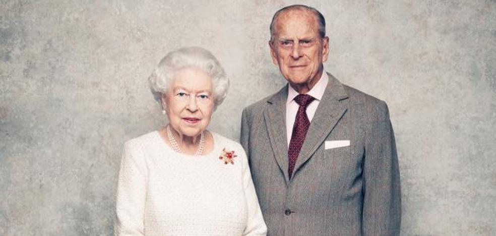 La reina Isabel II y el príncipe Felipe celebran su 70 aniversario de boda