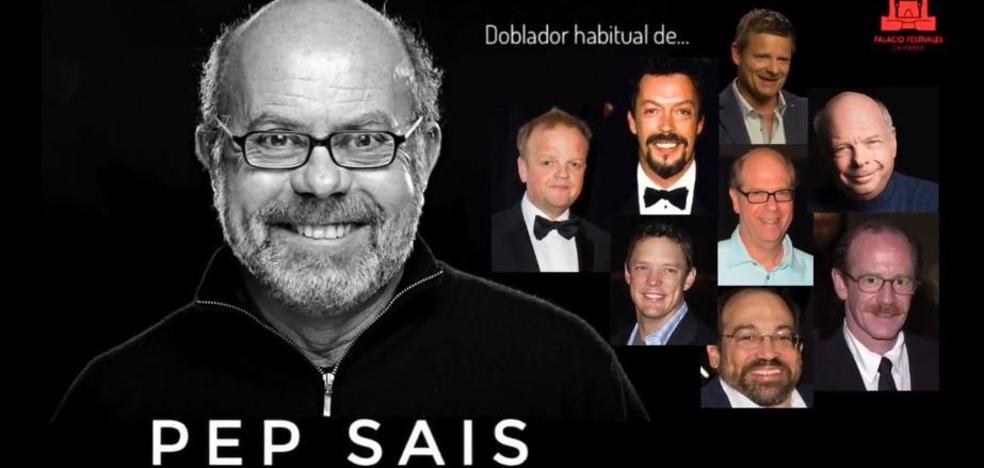 Pep Sais, una de las voces de Hollywood, impartirá un taller de doblaje en Santander