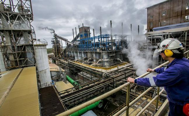 Solvay y la empresa portuguesa CUF firman el acuerdo para construir una planta de cloro en Barreda