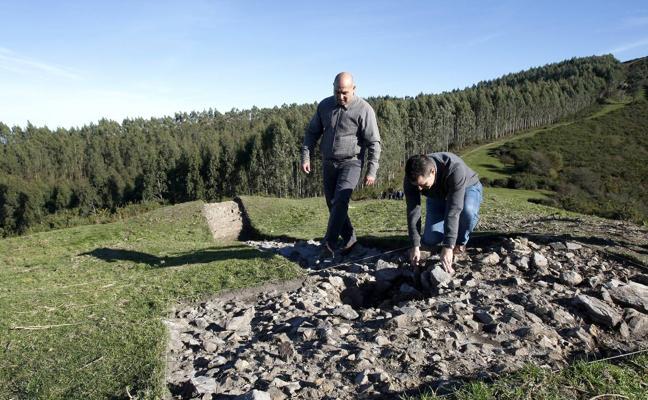Los restos arqueólogicos hallados en el Dobra datan de la época visigoda