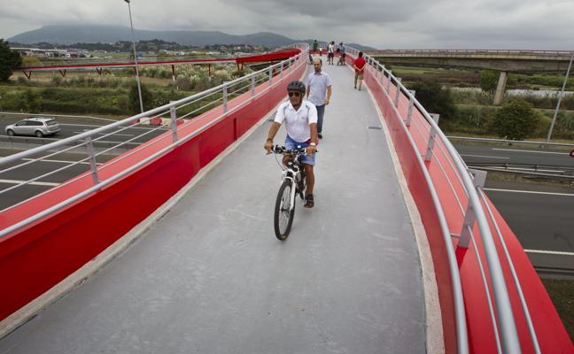 Camargo contará con un nuevo tramo de carril bici junto a la Marisma de Alday
