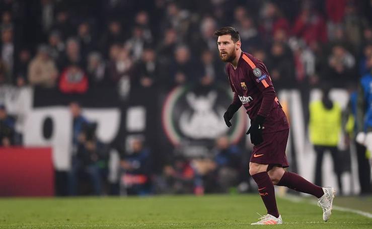 Las mejores imágenes del Juventus-Barcelona