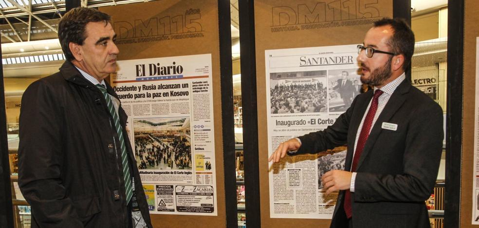 El Diario lleva al Corte Inglés su muestra de portadas históricas