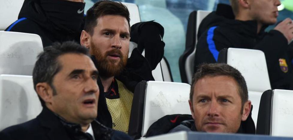 Hasta Messi acepta el giro del Barça hacia lo práctico