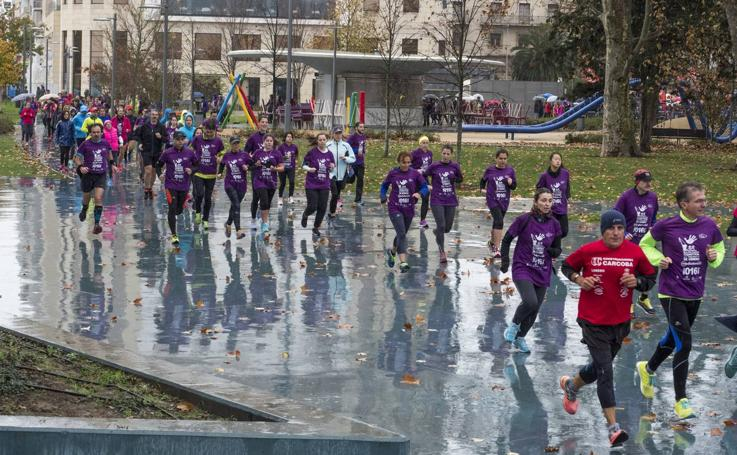 Primera Marcha-Carrera contra la Violencia de Género celebrada en Santander