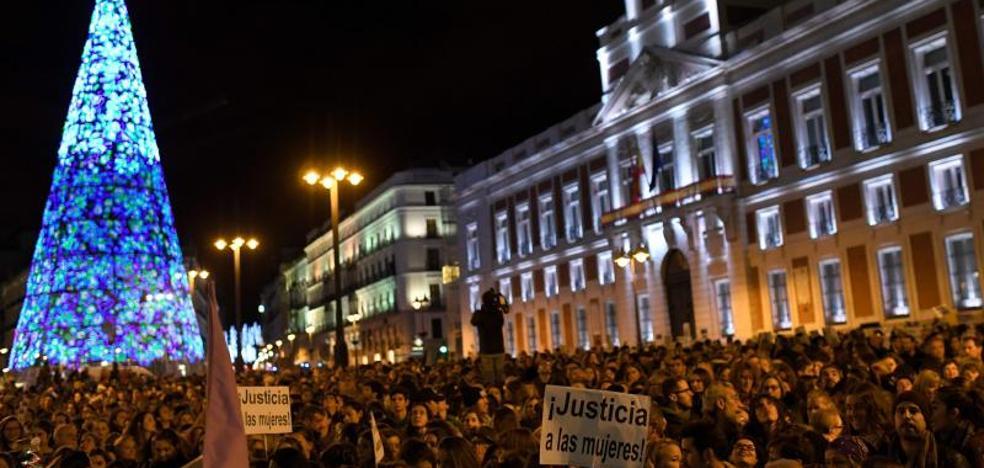 Miles de personas marchan en toda España contra la violencia machista