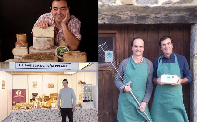 Podio al completo para los quesos de Cantabria