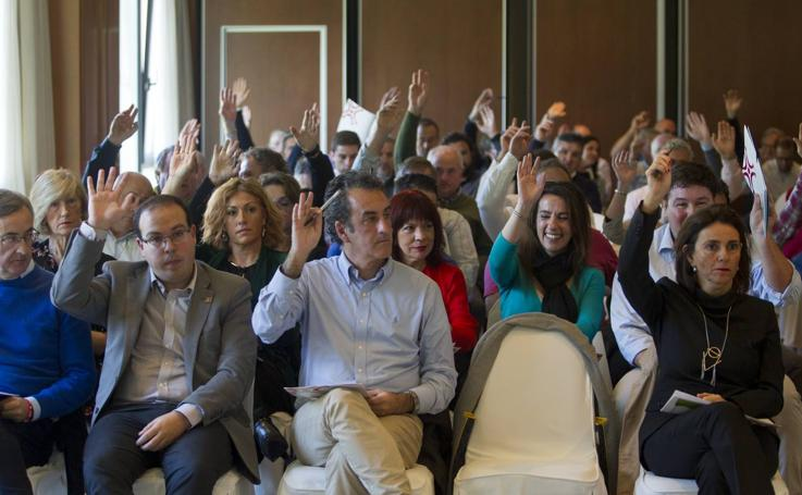 Asamblea de dirigentes del PRC, celebrada en el Balneario de Puente Viesgo