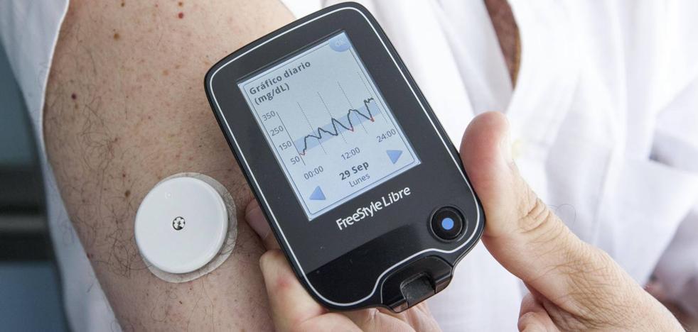 La sanidad cántabra pagará el sensor que evita los pinchazos a niños y adultos con diabetes