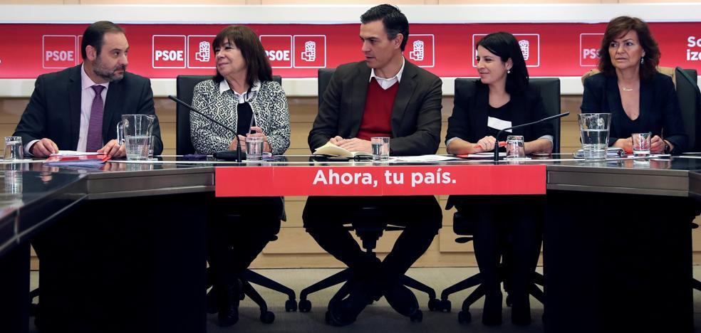 El PSOE eleva sus críticas a Ciudadanos ante el 21-D
