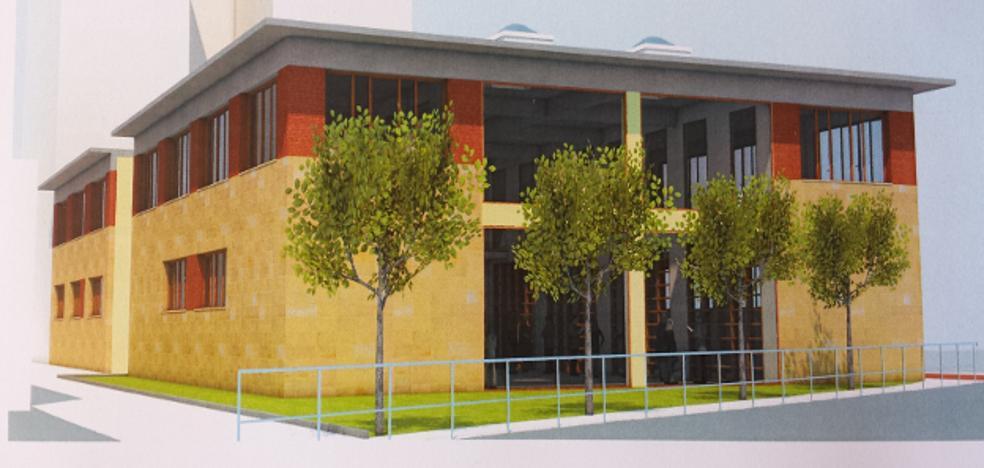 Los dos edificios sobre las antiguas escuelas de Los Corrales se adjudican a la misma empresa