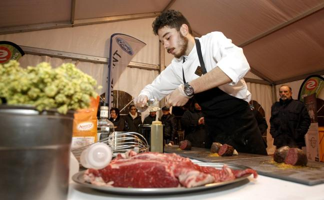 Vicente Martín triunfó en el concurso de cocineros que puso fin a Cocinart