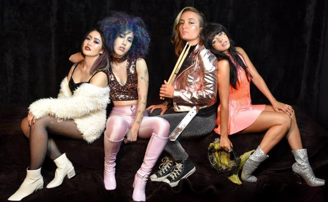 Glam Skanks y su glam rock, este viernes en Santander