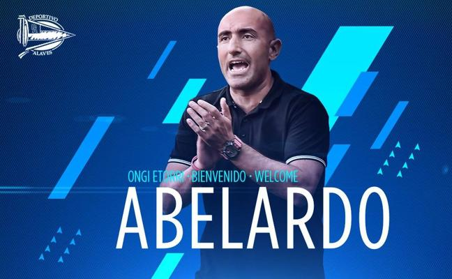 Abelardo, nuevo entrenador del Alavés