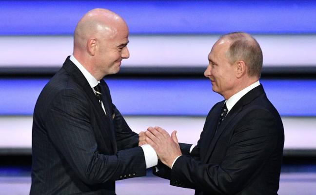 Rusia da el pistoletazo de salida al Mundial