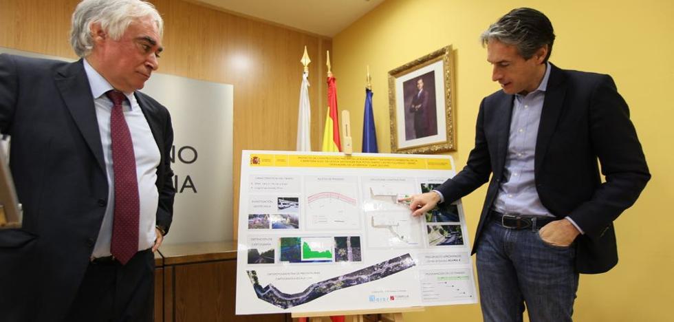 Fomento proyecta invertir 60 millones en un nuevo trazado del Desfiladero de la Hermida