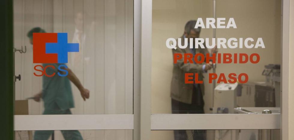 Cantabria tiene 8.706 pacientes en lista de espera quirúrgica