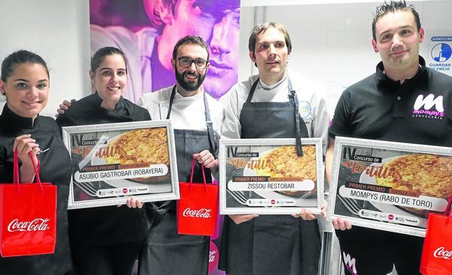 Nacho Basurto renueva título en la categoría de 'Tortilla Creativa'