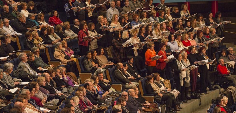 'El Mesías' de Händel acercó la Navidad al Palacio de Festivales