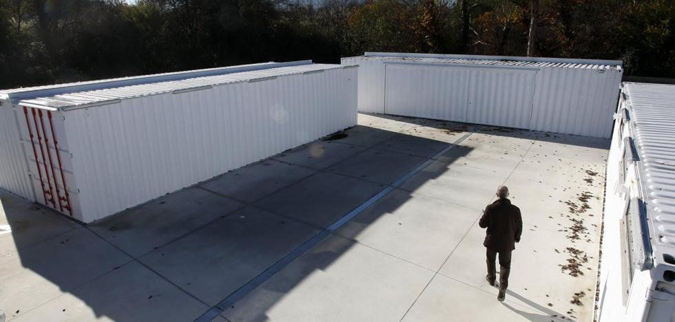 Los contenedores convertidos en locales de ensayo se abrirán en enero