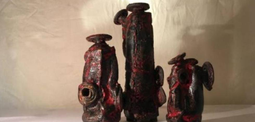 La cerámica del artista moldavo Nicolae Scaterman en Espacio Joven