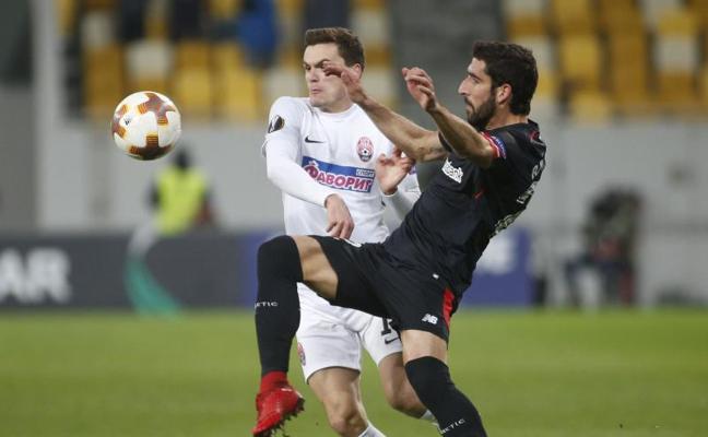 El Athletic se reanima en Ucrania y se encuentra con el liderato