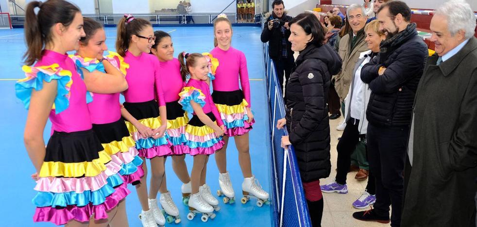 Finalizadas las obras del pabellón de patinaje del complejo 'Ruth Beitia'