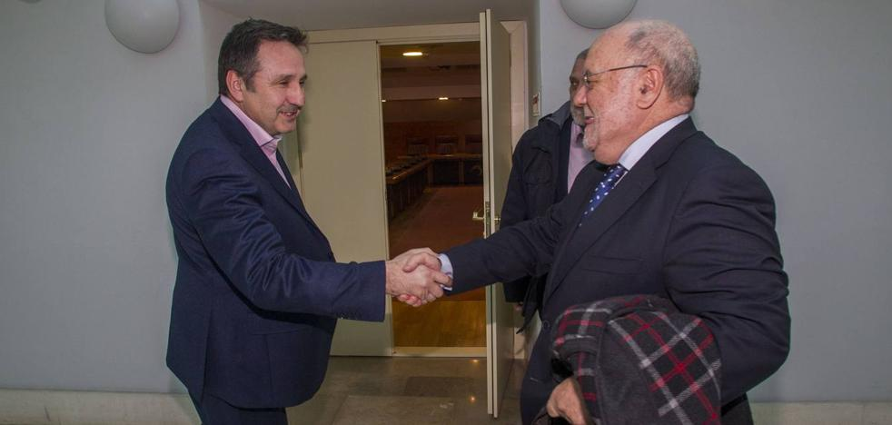 Sota: «No ha habido ninguna negociación formal con Carrancio»