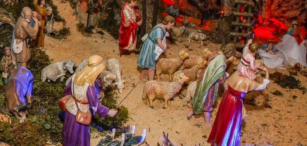 El belén, tradición viva en la Navidad
