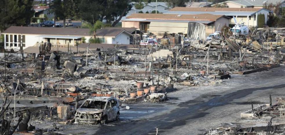 Los feroces incendios se extienden por el sur de California