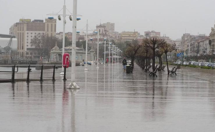 'Ana' trae lluvia, viento y nieve a Cantabria