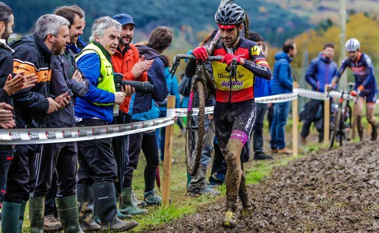 imágenes del Ciclocross de Igorre