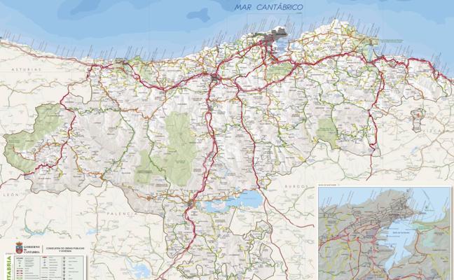 Cantabria estrena mapa de carreteras