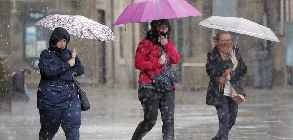 La borrasca mata a una mujer en Portugal