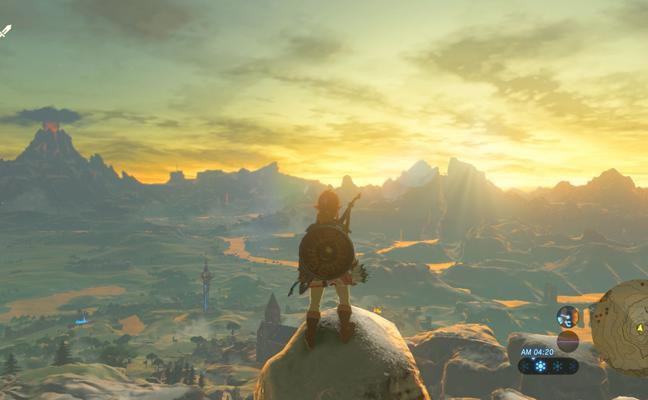 'The Legend of Zelda: Breath of the Wild', premio Titanium al mejor videojuego del año