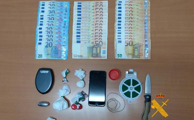 Detenido un joven de 22 años por tráfico de drogas en Castro Urdiales