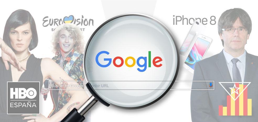 Cataluña, lo más buscado del año en Google
