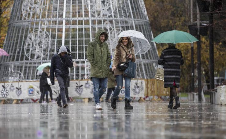 Santander, la ciudad donde más ha llovido