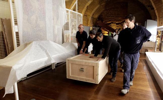 La pieza de Sijena que no entregó Lérida a Aragón se extravió en 2012 durante unas obras del Palacio episcopal