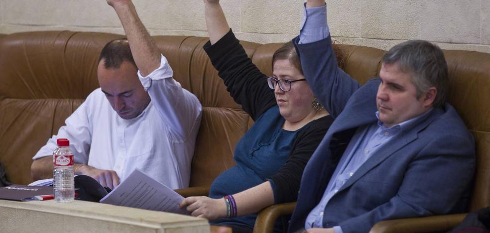 El PSOE confía en lograr la abstención o el voto de Podemos para los presupuestos regionales