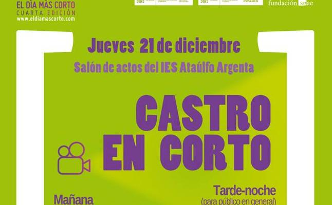 Castro se suma a una nueva edición de 'El día más corto' proyectando 50 cortometrajes