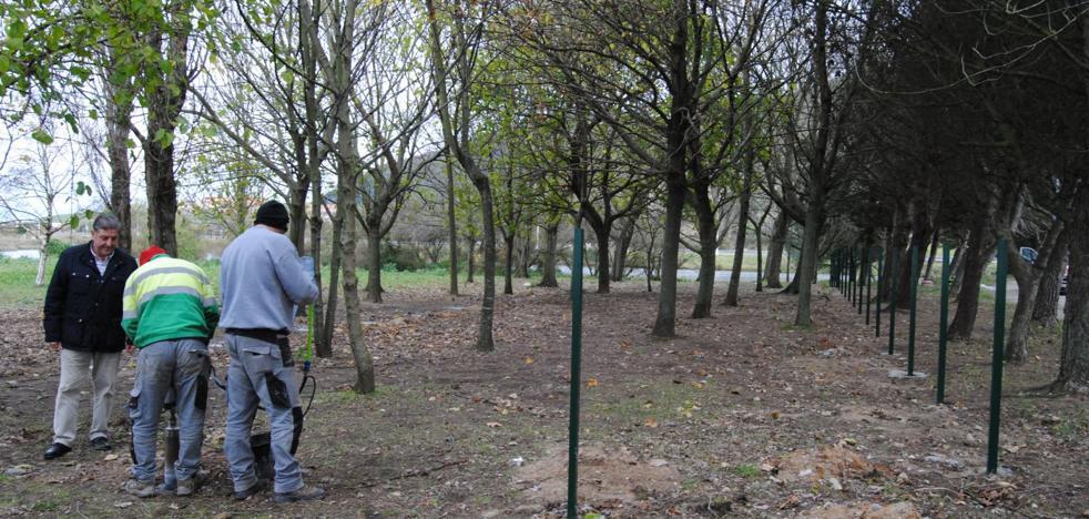 Santoña comienza las obras para habilitar un parque para perros junto al polígono