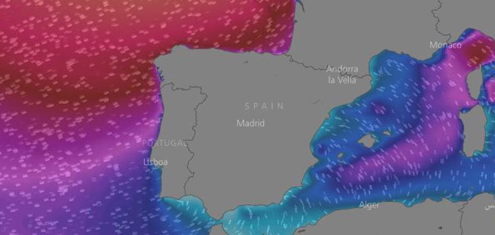 La costa cántabra, otra vez en alerta naranja por olas que podrían llegar a los siete metros