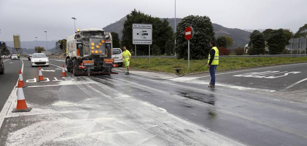 Tráfico ultima la instalación del radar del tramo entre Colindres y Ramales