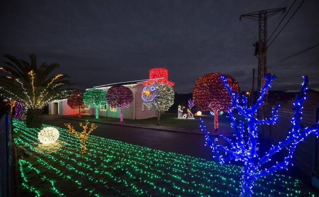 Las casas donde se aloja la Navidad