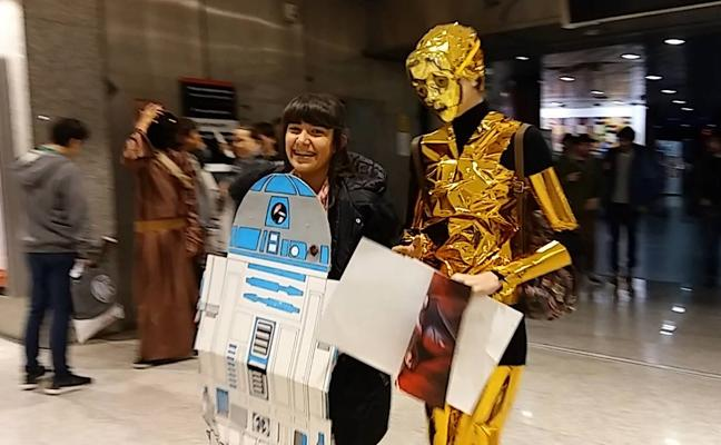 Star Wars reactiva el fenómeno fan en Cantabria