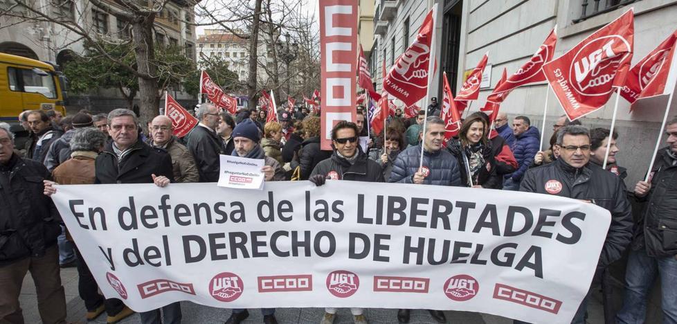 CCOO alerta de que la conflictividad laboral ha aumentado un 80% en Cantabria