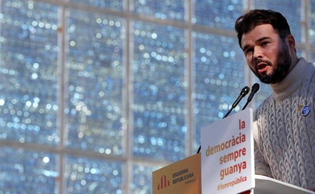 Rufián responde a Borrell: «El mejor desinfectante es la cal viva»