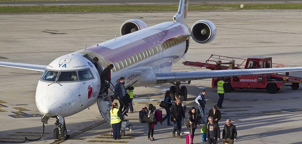 La ruta aérea con Madrid sumará más conexiones, aviones más grandes y nuevos horarios en 2018