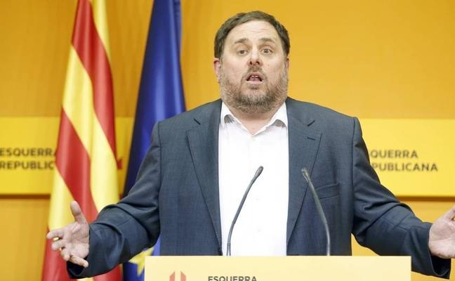 Junqueras reprocha a Puigdemont su fuga: «Yo no me escondo nunca»